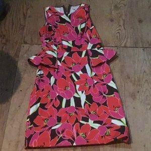 Mint condition Kate spade floral dress size 4